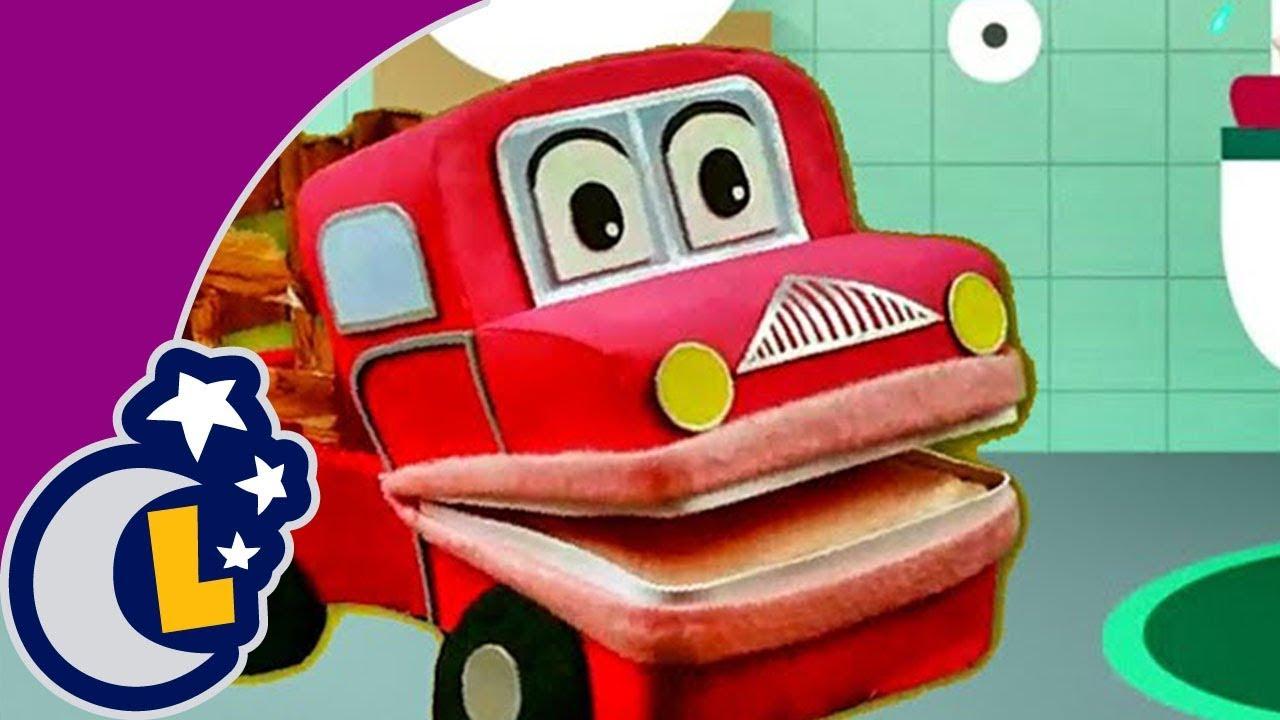 ¿Cómo dejar el pañal? . Enseñanza para niños con Barney El Camión y Panchito