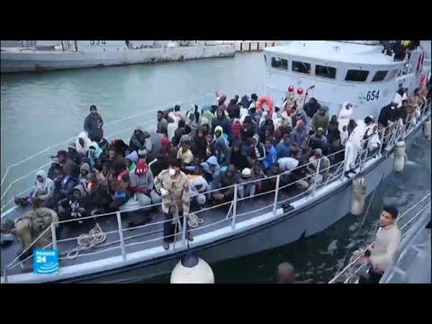 خفر السواحل الليبي ينقذ مئات المهاجرين  - 16:22-2018 / 1 / 10