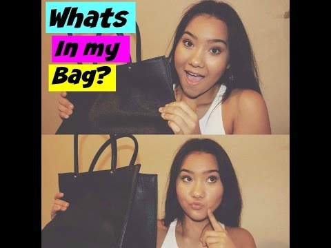 whats in my bag?! | Catherine Nash