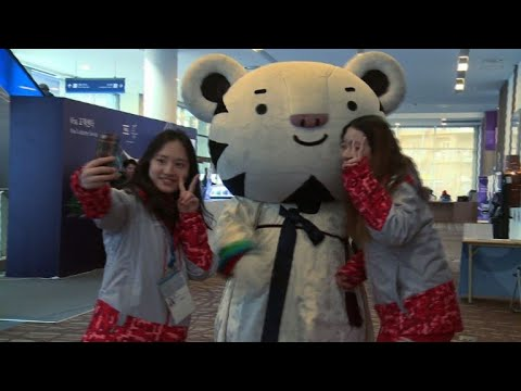 Oly-2018: Being the Olympic mascot is no cushy job