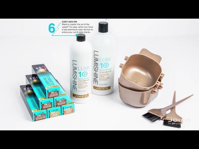 New LumiShine LUMI10: 10 Minute Permanent Crème Color