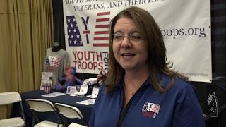 """Y4T in """"Equine and Wines Presents Military Day"""" at the Scottsdale Arabian Horse Show"""