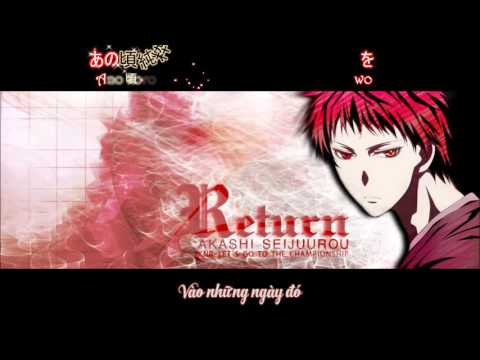 Kuroko no Basket Vietsub Character Song RETURN  Akashi Seijuuro
