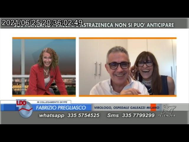 SORPRESA PER PREGLIASCO IN DIRETTA - linea d'Ombra - 25/6/2021