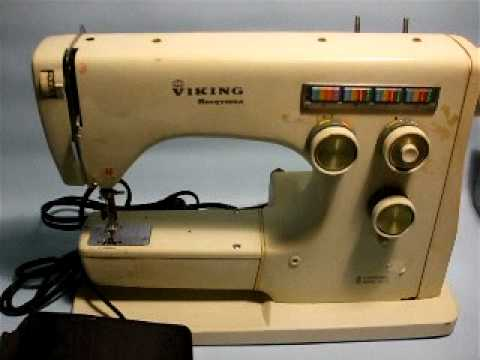 Viking Husqvarna 40 Sewing Machine For SaleeBay Demo Video YouTube Interesting Viking Sewing Machine Models