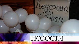 В Москве люди с ночи идут к народному мемориалу жертвам трагедии в Кемерове на Манежной площади.