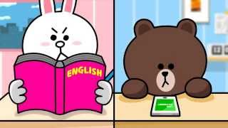 LINE - Dictionary - Official AD_3. Word card