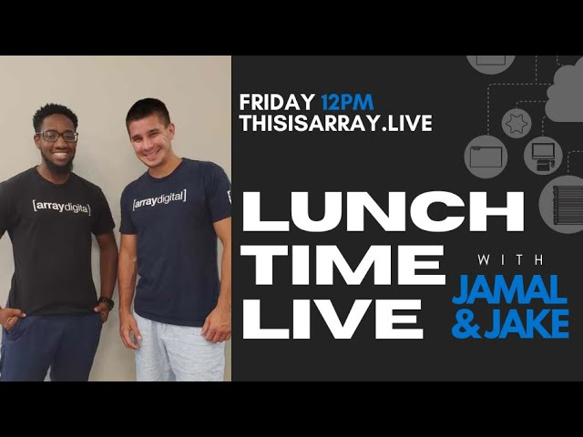 Website Giveaway & Tips - Lunchtime Live