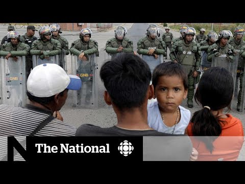CBC News: The National: Tensions mount in Venezuela amid rival aid shipments