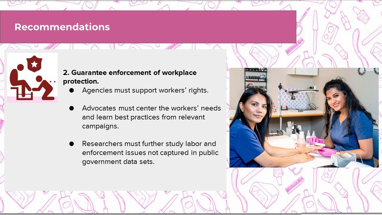 Protecting Nail & Salon Workers Health - Women's Voices for