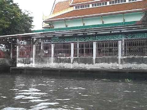 Bangkok Thailand  canal travel