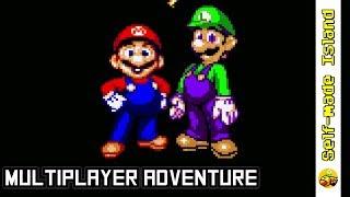 Super Mario World Multiplayer Adventure • Super Mario World ROM Hack (SNES/Super Nintendo)