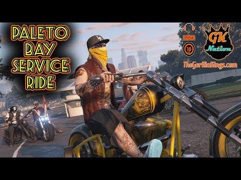 Paleto Bay Service Ride - Gorilla Kings MC | GTA 5 | Rockstar Editor