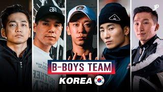 Team B-Boys Korea 🇰🇷 Hong 10, Wing, Vero, Physicx, Differ, Heady, Blond & Pocket