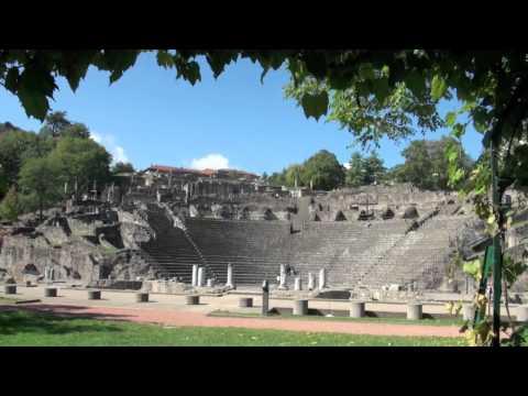 LYON : Les deux théâtres antiques de Fourvière