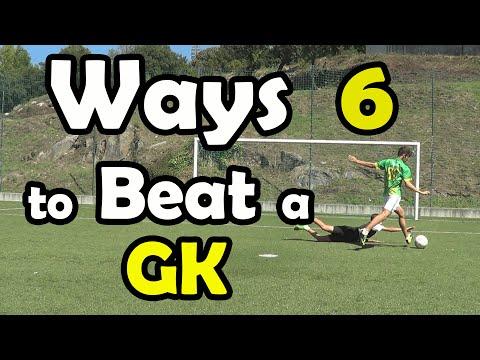 6 Ways to Beat a Goalkeeper - Tutorial - FreeKicksPT