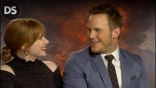 Chris Pratt & Bryce Dallas Howard on THAT Funny Moment in Jurassic World 2