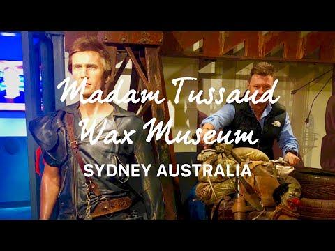 Madam Tussaud Wax Museum Sydney Australia