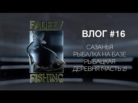 Влог #16. Сазанья рыбалка на базе Рыбацкая деревня (часть 2)