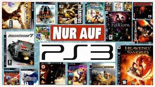 Nur auf Playstation 3 - Dięse Spiele gibt es auf keiner anderen Konsole