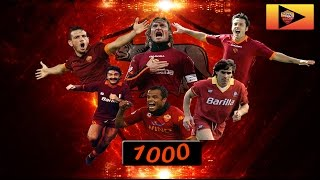 Top 10 goals AS ROMA'S HISTORY • Speciale 1000 iscritti