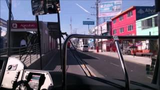 Viaje en Mexibús de Casa de Morelos a la estación Ecatepec Línea 2