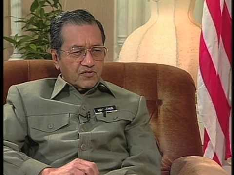 Interview with Dr  Mahathir Mohamad Part One