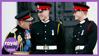 Prince William And Harry Pay Tribute To \