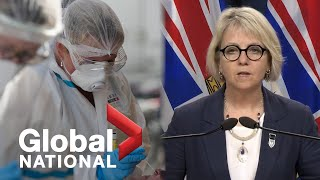 Global National: Aug.13, 2020 | COVID-19 cases resurge in B.C., outbreaks reported at U.S. schools