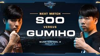 soO vs GuMiho ZvT – Quarterfinal 2 – WCS Global Finals 2017 – StarCraft II