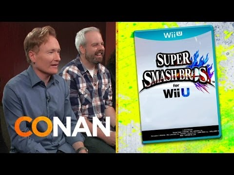 Clueless Gamer: Conan Reviews 'Super Smash Bros.'