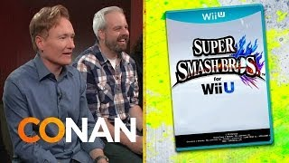 "Clueless Gamer: Conan Reviews ""Super Smash Bros."""