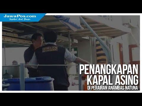 Proses Penangkapan Kapal China diperairan Anambas Natuna