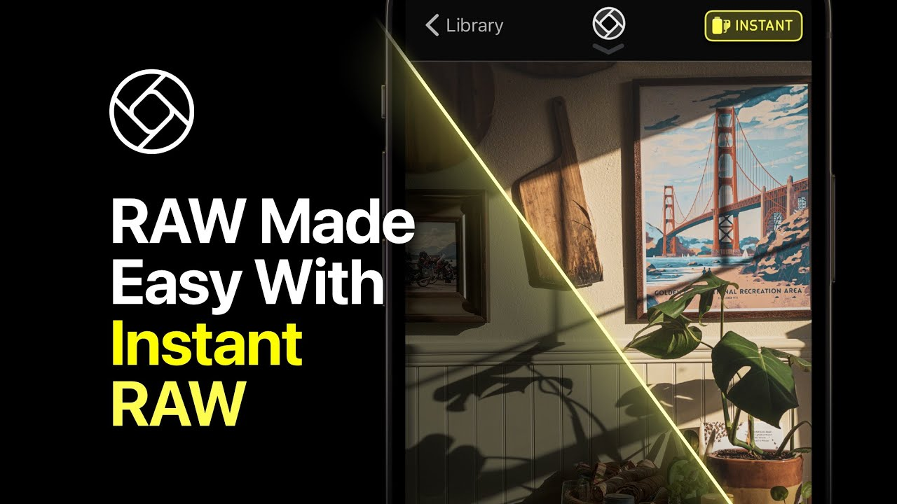 Download How to quickly develop RAW shots with Instant RAW - Halide Mark II Quick Tip