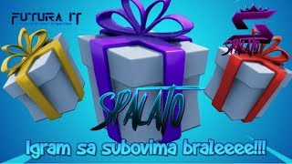 Paketići packages... Giftaj to me gently. XD-#Fortnite #Balkan #Live-target 6700 subsites #496