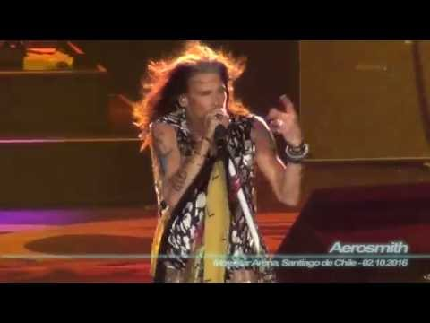Aerosmith - Dude Looks Like a Lady ( Movistar Arena, Santiago de Chile - 02.10.2016 )