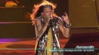 Presentación en Vivo de Aerosmith en Movistar Arena, Santiago de Ch...