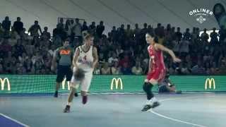 Уличный баскетбол: чемпионат Европы в Минске
