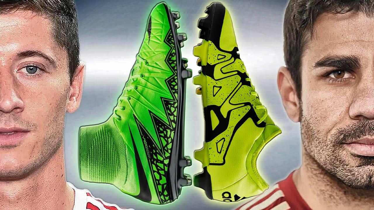 75015955c66 Lewandowski VS Diego Costa - Boot Battle  Nike Hypervenom 2 vs. adidas X15  Test   Review - YouTube