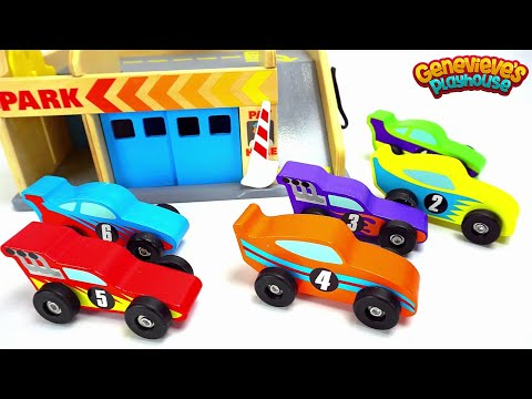 Thumbnail: Ensinar Cores do Bebe com Carros do Brinquedo do Divertimento