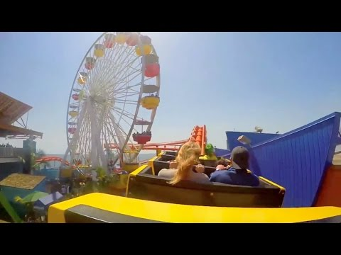 How To Do the Santa Monica Pier With Kids