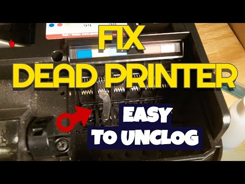 Giving Up On A Dead Printer? Try My Way To Unclog Inkjet Printer Port