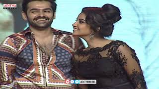 Ram - Anupama - DSP - Trinadh Rao - Dil Raju Hilarious Fun on Stage