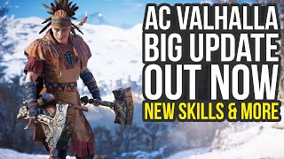 Assassin's Creed Valhalla Update OUT NOW - Transmog, New Skills & Way More (AC Valhalla Update)