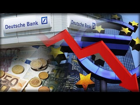 DEUTSCHE BANK COLLAPSE! PROFITS PLUNGE 98% NOW THE WORLD'S RISKIEST BANK