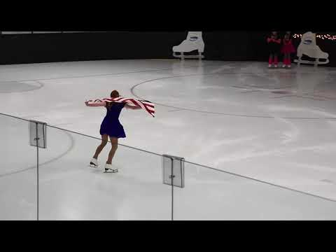 2018 MFSC Ice Show Crystal Jones God Bless the USA