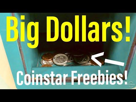 Big Dollars Found! Coinstar Freebies!