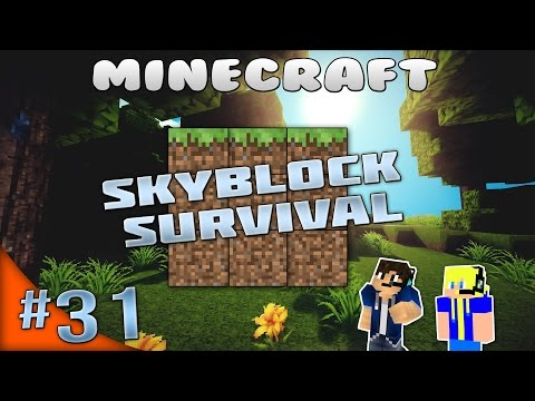 Carrot and Cocoa farm! | Minecraft Skyblock Survival [LIVE] #31