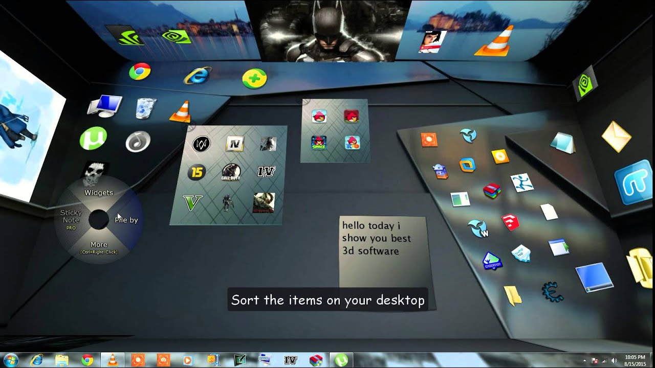 Best 3d Desktop Software