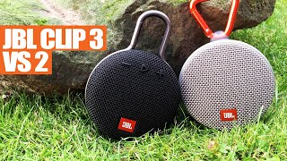 NEW JBL Clip 3 vs JBL Clip 2 - Which Sounds Best?